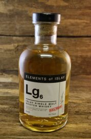 Elements of Islay Lg6 - Lagavulin 53,7 %  0,5 Liter
