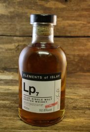 Elements of Islay Lp7  Laphroaig 52,8 %  0,5 Liter