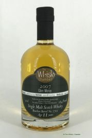 Glen Moray 2007  11 Jahre ex Bourbon Barrel 58 % The...