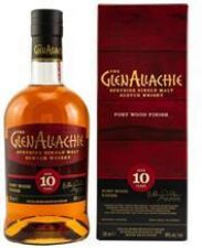 Glenallachie 10 Jahre Port Wood Finish 48 %  0,,7 Liter