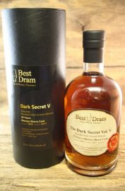 The Dark Secret Vol V 23 Jahre Oloroso Sherry Cask  53,6 %  Best Dram 0,7 Liter