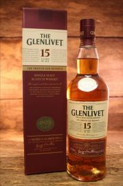 The Glenlivet - French Oak 15 Jahre 40% 0,7 Liter