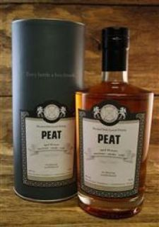 Peat  46 % Islay Blended Malt  Malts of Scotland 0,7 Liter
