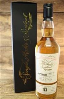Glen Elgin 21 Jahre Bourbon Hogshead  55,4 % Single Malts of Scotland 0,7 Liter