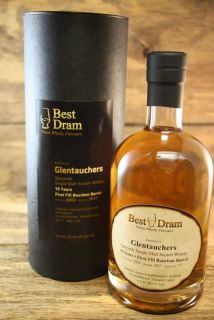 Glentauchers 15 Jahre Bourbon Cask 49,5 %   Best Dram  Sample