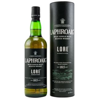 Laphroaig  Lore 48 %  Sample