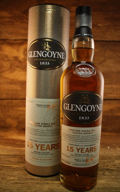 Glengoyne 15 Jahre Sample, 4,00 €, Whisky