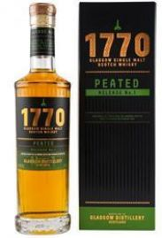 1770 Glasgow Single Malt Scotch Whisky Peated Release...