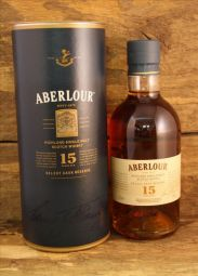 Aberlour - Sherry Wood Finish 15 Jahre 43%  0,7 Liter