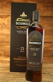Bushmills 21 Jahre Three Woods Madeira Finish 40 % 0,7 Liter