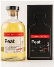 Elements of Islay  Peat   Islay Blended Malt 45 %  0,5 Liter