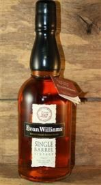 Evan Williams Single Barrel Vintage 2007 10 Jahre 43,3%...