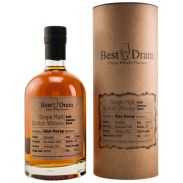 Glen Moray 13 Jahre Speyside Single Malt Scotch Whisky Refill Amarone Barrel 56,8 %  Best Dram 0,7 Liter