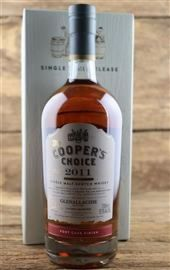 Glenallachie 2011 / 2019  Port Cask Finish 57,5 %  The Coopers Choice 0,7 Liter