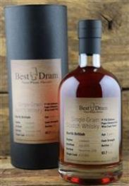 North British 8 Jahre Single Grain Scotch Whisky 1st Fill...