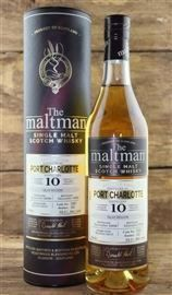 Port Charlotte 10 Jahre Bourbon Barrel 53,1 %  Maltman...