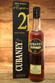Ron Cubaney 21 Jahre Exquisito 38 % 0,7 Liter