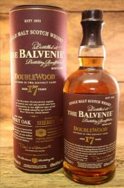 The Balvenie 17 Jahre Double Wood 43%   0,7 Liter