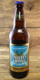 Thistly Cross Real Elderflower Cider 4 %  0,5 Liter