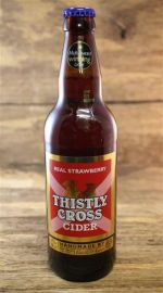 Thistly Cross Real Strawberry Cider 4 %  0,5 Liter