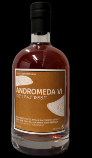 Andromeda VI  2009/2018  Highland Single Malt Scotch Whisky 1st Fill Amarone Wine Barrique 59,4 % Scotch Universe 0,7 Liter