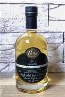 Annandale 2015  4 Jahre 1st Fill Bourbon Cask 59,1 % The Whisky Chamber 0,5 Liter