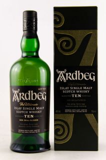 Ardbeg 10 Jahre Islay Single Malt Scotch Whisky 46 % 0,7 Liter
