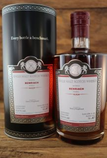 Benriach 2008/2019 Sherry Hogshead 53,9 % Malts of Scotland  0,7 Liter