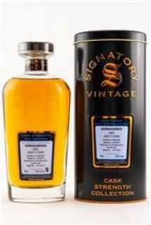 Bunnahabhain 2007/2019  12 Jahre 1st Fill Sherry Butt 58,20 % Signatory Cask Stregth Collection 0,7 Liter