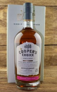 Bunnahabhain  Sweet & Smoky   Moscatel Finish 56 %  The Coopers Choice 0,7 Liter