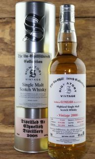 Clynelish 2008/2018  10 Jahre First Fill Bourbon Barrel No 800146 + 800147 46 %  Signatory Vintage Collection 0,7 Liter