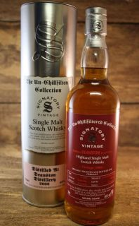 Deanston 2006/2018 11 Jahre 1st Fill Sherry Butt 46 % Signatory Vintage The Un - Chillfiltered Collection for Germany 0,7 LIter