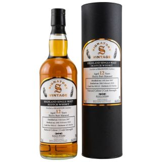Deanston 2007/2020  12 Jahre Sherry Butt No 900145  64,4 %  Signatory Vintage Collection bottled for Kirsch Whisky 0,7 Liter