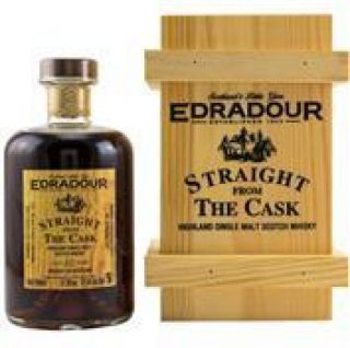 Edradour 10 Jahre Straight from the Cask Dark Sherry Butt No 353  57,9 % Signatory  0,5 Liter