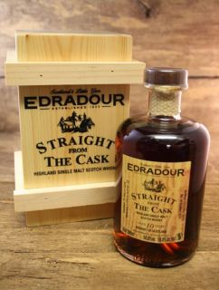 Edradour 10 Jahre Straight from the Cask Dark Sherry Cask 58,8 % Signatory  0,5 Liter