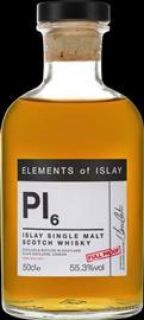 Elements of Islay Pl6 BourbonCask 55,3 %   0,5 Liter