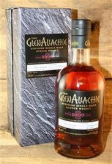 GlenAllachie 1990/2018  Virgin Oak Barrel No 1468  54,1%  0,,7 Liter