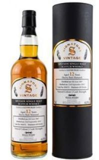 Glenburgie 2007/2019  12 Jahre Sherry Butt No 900076  64 %  Signatory Vintage Collection bottled for Kirsch Whisky 0,7 Liter