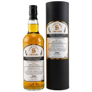 Glenburgie 2007/2019  12 Jahre Sherry Butt No 900078  64,4%  Signatory Vintage Collection bottled for Kirsch Whisky 0,7 Liter