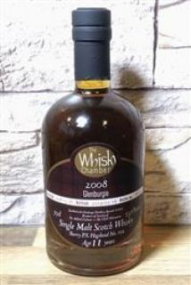 Glenburgie 2008 11 Jahre  PX Sherry Cask 53,6 % The Whisky Chamber 0,5 Liter