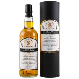 Ledaig 2007/2020 12 Jahre Refill Sherry Butt 59,20 %  Signatory Vintage Collection bottled for Kirsch Whisky 0,7 Liter
