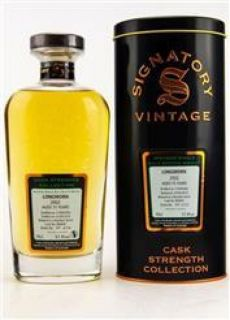 Longmorn 2002/2018 15 Jahre Bourbon Barrel No 800645  57,4 % Signatory Vintage The Cask Strength Collection 0,7 Liter