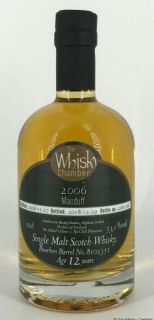 Macduff 12 Jahre Bourbon Barrel 53,1 %  The Whisky Chamber 0,5 Liter