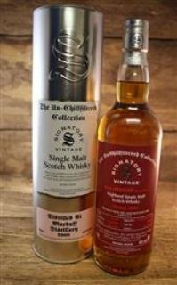 Macduff 2008/2018  9 Jahre First Fill Sherry Butt 46 % Signatory Un - Chillfiltered Collection for Germany  0,7 Liter