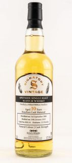 Strathisla 2008 / 2019 10 Jahre Bourbon Cask No 800130  57,5 %  Signatory Vintage Collection bottled for Kirsch Whisky 0,7 Liter