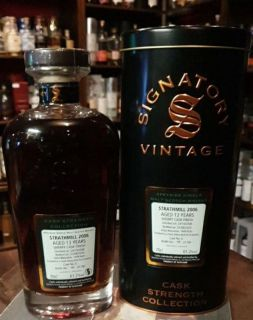 Strathmill 2006/2020  13 Jahre Sherry Butt #6 Signatory Cask Strength Collection 0,7 Liter