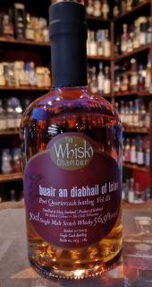Tempt the Devil Port Cask Finish Vol III 56,9%  The Whisky Chamber 0,5 Liter