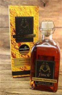 finch® Schwäbischer Hochland Whisky Barrel Proof  54% Limited Edition 0,5 Liter